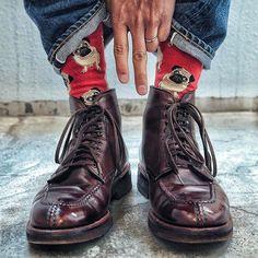 2017/03/12 12:50:13 wholelottafashion O N E F O O T I N B L U E S  @yutaso24  #wholelottafashion #alden #aldenshoes #sanders #trickers #trickersshoes #crockettandjones #chupsocks #shoesandsocks #brownshoes #menssocks #sockittome #ruggedstyle #ruggedlife #unitedarrows #doublerl #beamsf #captoe #menswearblogger #menswearblog #selvedgeforum #bluedenim #japanblue #革靴 #オールデン #トリッカーズ #ネペンテス #ドレスシューズ #ジーンズ #デニム