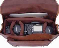 Leather messenger bag-style camera bags don't come cheap. A cursory search on B&H Photo will reveal prices that often run in the $300+ range for something