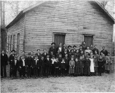 Mud Creek School picture. Mud Creek School. March 11, 1899