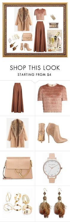 """""""LOOKING FO EVERY OCCASION"""" by femina-mode ❤ liked on Polyvore featuring Zimmermann, Raey, Steve Madden, Chloé, Olivia Burton and Rifle Paper Co"""