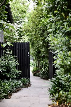 30 adorable Black Garden ideas for amazing garden inspiration . 30 adorable Black Garden ideas for amazing garden inspiration In mod. Amazing Gardens, Beautiful Gardens, Garden Inspiration, Garden Ideas, Terrace Ideas, Fence Ideas, Dream Garden, Garden Planning, Garden Paths
