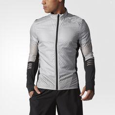 Una chaqueta para running en condiciones frías.