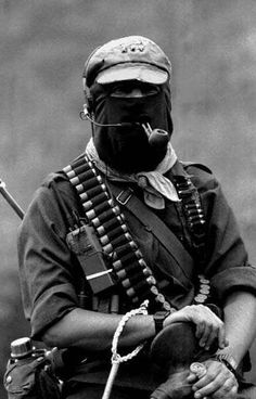 Subcommandante Marcos, leader of the Zapatista Army of National Liberation.  His genius blending of anarcho-communist and environmental protection has developed one of the most environmentally stable and sociologically equitable societies.