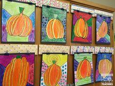 Pumpkin Directed Drawing