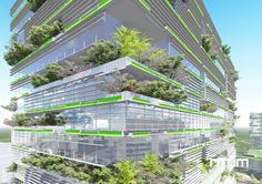 Tree Town - low carbon masterplan presented at the Alternatives for Low Carbon Architecture (ALCA) | RMJM