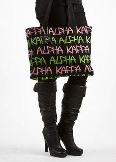 Alpha Kappa Alpha tote http://www.label7apparel.com/products-page/alpha-kappa-alpha-sorority-inc/aka-all-over-print-bag-2