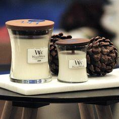 La bougie parfumée WoodWick : l'élégance au naturel.