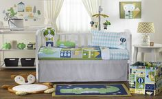 Juniper 6 Piece Nursery Set by Living Textiles