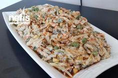 Nefis Yoğurtlu Erişte Salatası