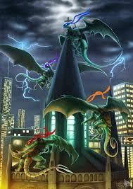 Image result for TMNT: Dragons Rising Pg 09 by JazzTheTiger
