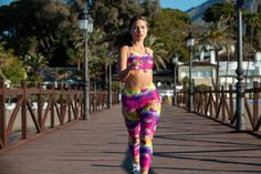 As Captivating As A Caribbean Sunset, Tikiboo's Tikitropics Full-length Pants Feature A Blend Of Warm Colours And Palm Leaves. Treat Your Legs To These Silky Tropical Tights! Warm Colours, Tights, Leggings, Keep Your Cool, Caribbean, Palm, Tropical, Leaves, Yoga