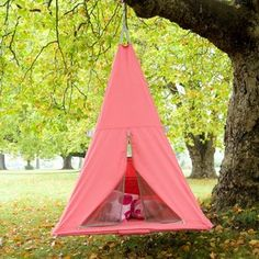 Treepee! Full of awesome gift for a monkey. It's a tent/teepee/trampoline. Yaaay