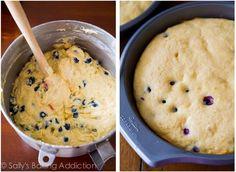 Lemon Blueberry Layer Cake | Sally's Baking Addiction