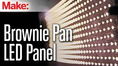 Brownie Pan LED Pane