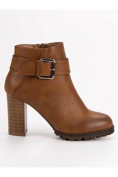 Béžové topánky na stĺpiku Super Mode Peeps, Peep Toe, Platform, Booty, Ankle, Shoes, Products, Fashion, Moda