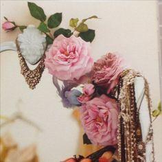 Romantic Shabby Chic, Boudoir, Floral Wreath, Wreaths, Bedroom, Home Decor, Powder Room, Floral Crown, Decoration Home