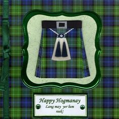McCrafty's Cards: C.R.A.F.T Challenge ( Happy Hogmanay)