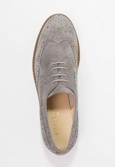 Anna Field Premium Lace-ups - grigio chiaro/light grey for £49.99 (31/08/17) with free delivery at Zalando