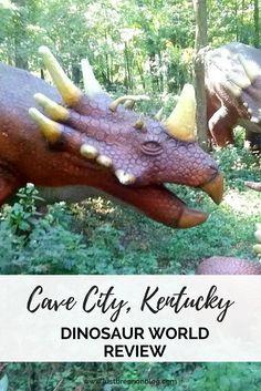 A Must Visit! Dinosaur World, Cave City, Kentucky.