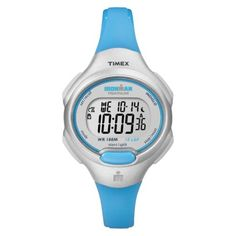 Shop for Timex Women's Ironman Essential 10 Mid-Size Turquoise Resin Strap Watch - silver. Get free delivery On EVERYTHING* Overstock - Your Online Watches Store! Sport Watches, Cool Watches, Watches For Men, Timex Indiglo, Running Watch, Timex Watches, Countdown Timer, Best Watch Brands, Online Watch Store