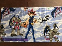 "10/"" Yu-gi-oh anime fabric applique iron on character"