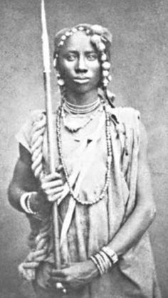 Inspiration: Dahomean amazons   ... Amazons. The last surviving Amazon of Dahomey died in 1979. #WarriorWomen