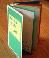 accordion book for artist scrapbook