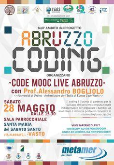 A Vasto levento : Code Mooc Live Abruzzo