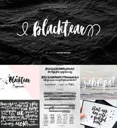 Introducing Blacktear script- an artsy, charismatic handwritten font with modern creative stroke, simple and easy to create awesome lettering. Comes with cyrillic and roman typeface. Free for download. File format: .otf, .ttf for Photoshop or other software. File size: 1 Mb.