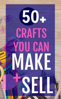 This is a wonderful list of crafts you can make and resell at flea markets & craft fairs! I was looking for easy ideas. Anyone can do these, even kids and teens. Part of a money making series for moms on ways to earn extra income from home! | stay at home mom job ideas, make extra money at home, #extracash #sidegig #mom