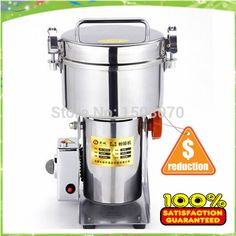 430.00$  Buy here - http://alim66.worldwells.pw/go.php?t=32281124646 - free shipping 1000g electric commercial tobacco,grain,chili,food,flour,spice grinder,ce mill, spice grinding machine