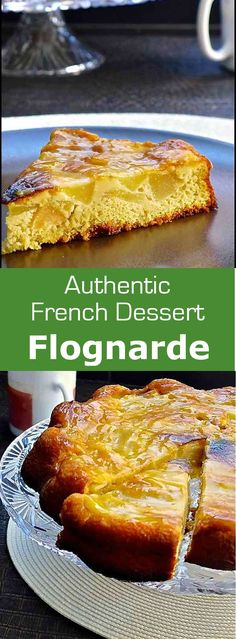 Flognarde is a variant of the famous French clafoutis made with black cherries…