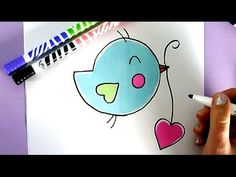 HOW TO DRAW A CUTE PUPPY WITH A LOVE HEART - YouTube