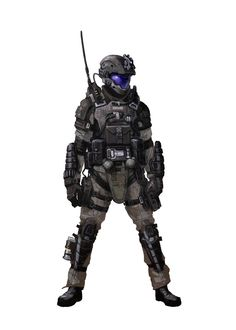 ArtStation - Halo 3 ODST iterations, Isaac Hannaford