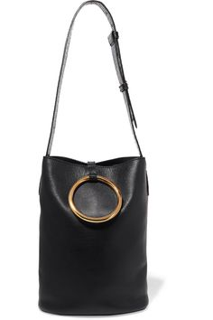 STELLA MCCARTNEY Bucket faux leather shoulder bag $1245.0