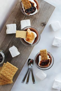Parfaits, Panna Cottas & Pots de Creme on Pinterest | Pot De Creme ...