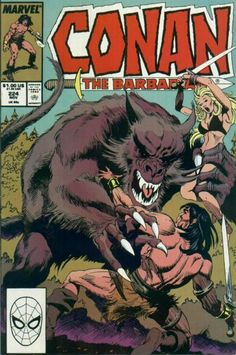 Cover for Conan the Barbarian (Marvel, 1970 series) Conan Comics, Sci Fi Comics, Archie Comics, Literary Characters, Comic Book Characters, Comic Character, Fantasy Heroes, Fantasy Comics, Caricature
