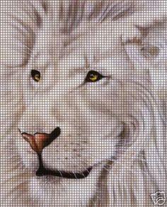 The Lion & Lioness Crochet Pattern Crochet Lion, C2c Crochet, Manta Crochet, Tapestry Crochet, Cross Stitch Animals, Cross Stitch Kits, Cross Stitch Patterns, Knitted Mittens Pattern, Crochet Blanket Patterns