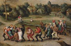 Saint John's Dancers in Molenbeeck' (1592) by Pieter Brueghel II - Epilepsie - Wikipedia