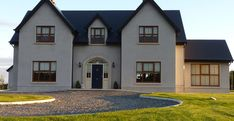 New Builds Kildare Dream Home Design, My Dream Home, House Design, Ireland Homes, New Builds, Minimalism, House Plans, Exterior, Mansions