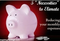 Five Necessities To Eliminate  Reducing Your Monthly Expenses!