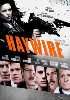 Haywire is one of Steven Soderbergh's action film, starring Gina Carano who is a female MMA fighter who never acted before. It shows. Despite some of the biggest name in acting, like Michael Fassbender, Ewan McGregor, Bill Paxton, Channing Tatum, Antonio Banderas and Michael Douglas, the movie lacks story to make it interesting. The action is plenty in this movie and despite her first acting Carano doesn't suck. However, not everything adds up to a great movie.