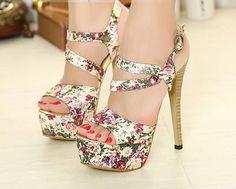 """"""" Stiletto Heel Sandals """""""