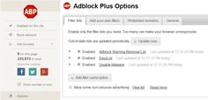 A Free Plugin/Extension I strongly recommend you install Introducing, Adblock Plus. What is it? Adblock Plus is a free extension that allows you to – among other things – block annoying…