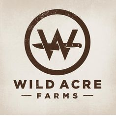 "32 Likes, 3 Comments - @triedandtruedesign on Instagram: ""New brand identity for Wild Acre Farms... about to tuck into some super tasty looking butterflied…"""