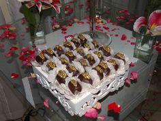 Docinhos Finos da Sweet Rosie Bolos e Doces Finos: Camafeu de Nozes (Casamento de Cleia e Ewerton)