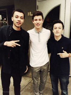 Shawn with Kalin and Myles