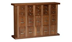 Alexandria Codex - comic book storage heirloom furniture by Geek Chic.