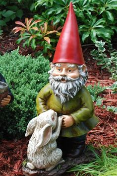 Animal lover gnome