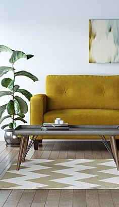 Customisable Corner Sofa With Wooden Feet